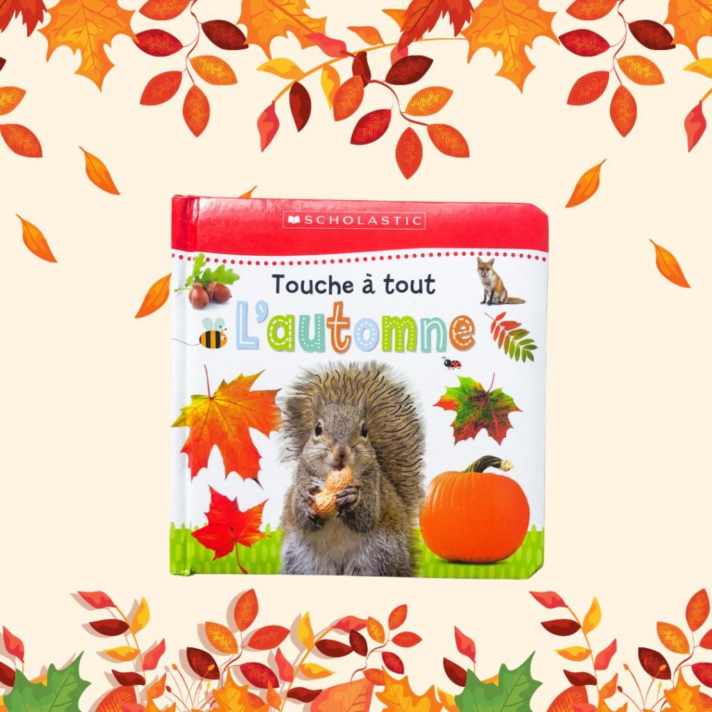 French books for kids - Touche à tout : automne