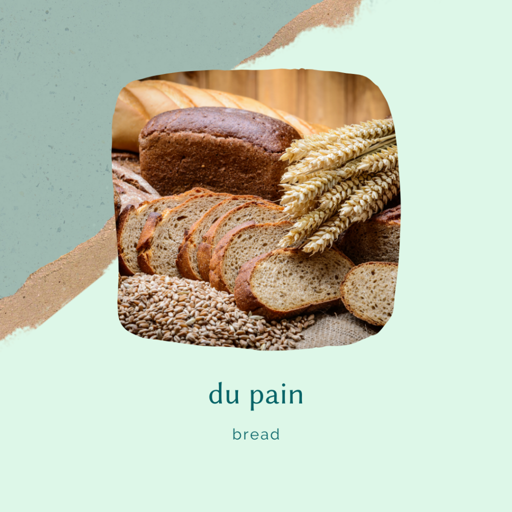 french food vocabulary - pureed bread