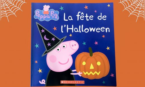 peppa pig halloween in french