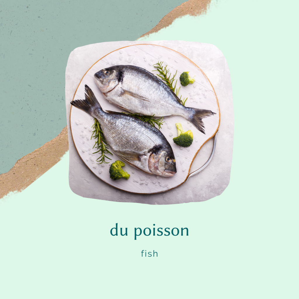french food vocabulary - pureed fish