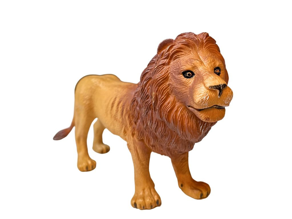 safari animals in french - lion