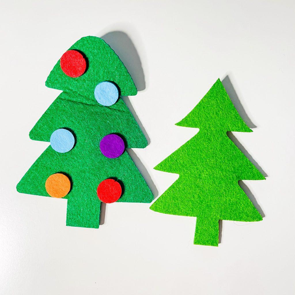 Christmas in French - Christmas tree sapin