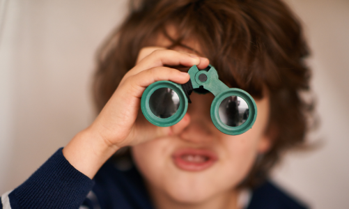 French games for kids: I spy with my little eye