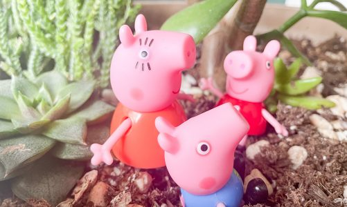 Learn French with Peppa Pig: spring vocabulary