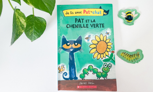 French spring book: Pete the Cat and the Cool Caterpillar
