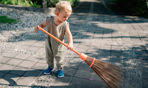 French for children: Spring cleaning vocabulary