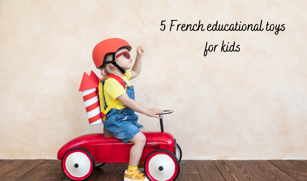 French speaking toys - French educational toys for kids