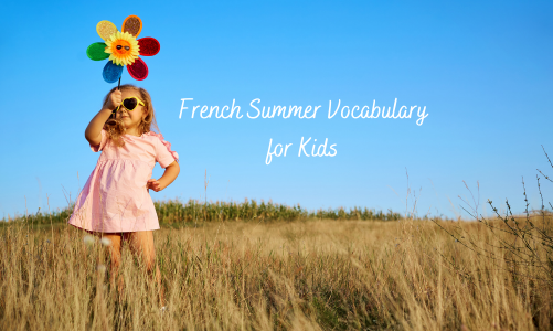 French summer vocabulary: clothing and seasonal items