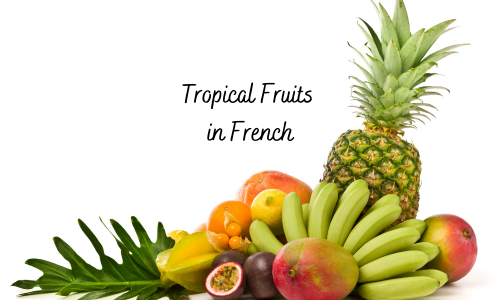 tropical fruits in french